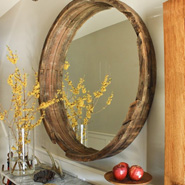10 Ways Of Using Barrels In Home Decor
