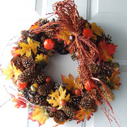 20 Amazing Thanksgiving Wreaths