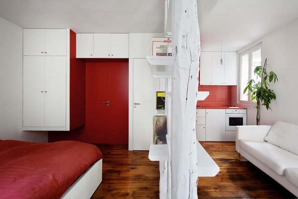 4 Creative Small Apartment Designs