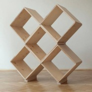 45x Modular Bookcase by Gabi Maacha