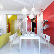 5 Colorful And Bright Apartment Designs