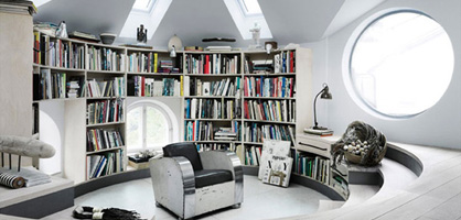 5 Impressive Home Library Designs