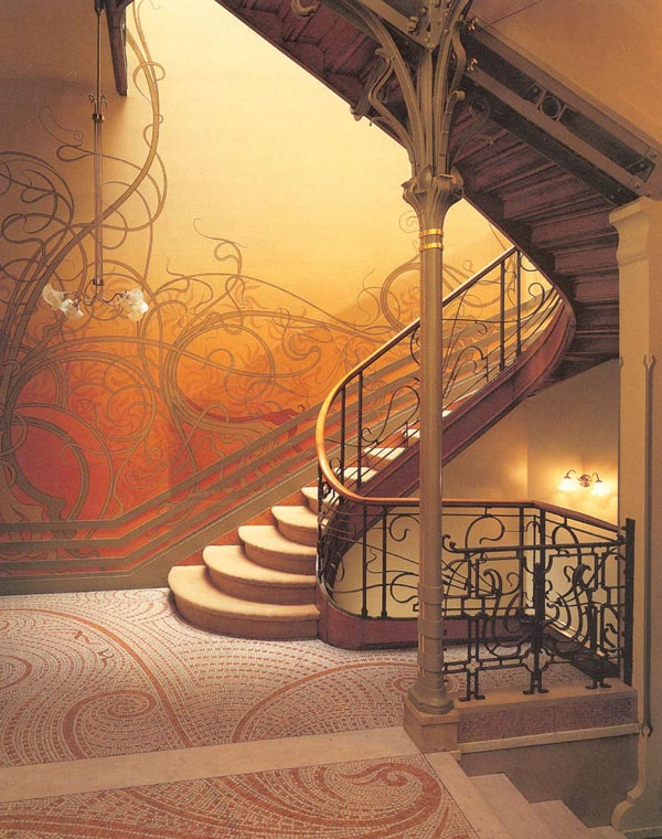 Art Nouveau Decorating Style