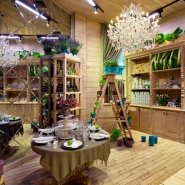 Beautiful Interior Design: Flower Shop in Kiev