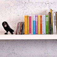 Unusual Storage Idea: Book Cases for Keeping Small Objects