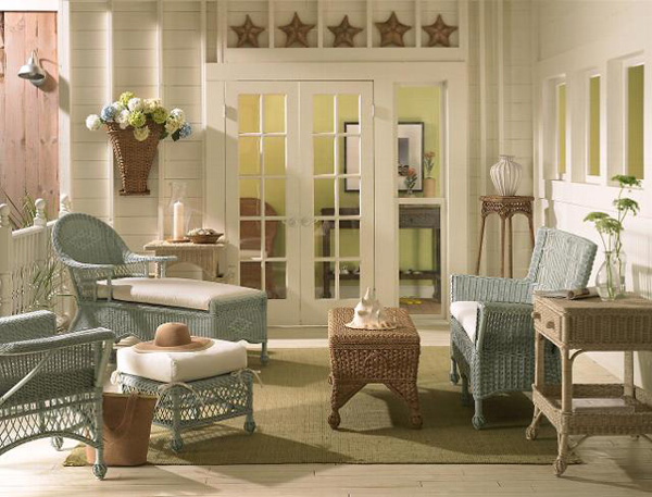Cottage style interior design