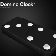 Domino Clock from Carbon Design Group