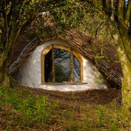 Eco-friendly Hobbit House