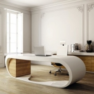 Goggle Desk for Uncluttered Office