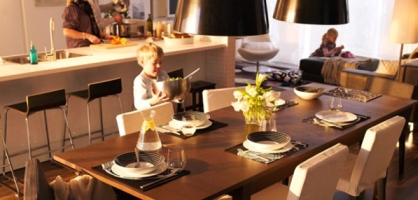 IKEA Dining Room Design Ideas 2011