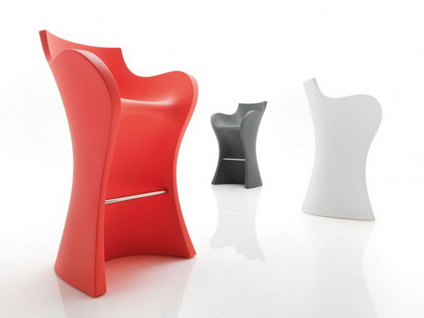 Karim Rashid Woopy Armchair &amp; Bar Stool
