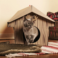 Loyal Luxe Cardboard Cat Houses