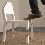 Optical Illusion: Peter Bristol&#8217;s Cut Chair