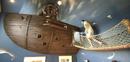 Pirate Ship Kid's Room