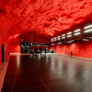 Stockholm Subway: Art Is Everywhere You Go