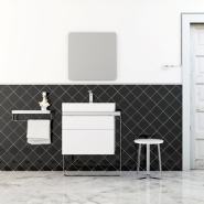 &#8216;Structure&#8217; &#8211; Bathroom Furniture Collection from Inbani