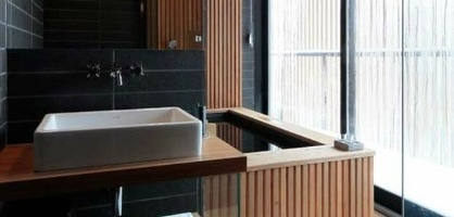 11 Wooden Interiors That Will Change Your Look on Bathroom