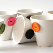&#8216;About Coffee&#8217; Cup Set by PlayDesign