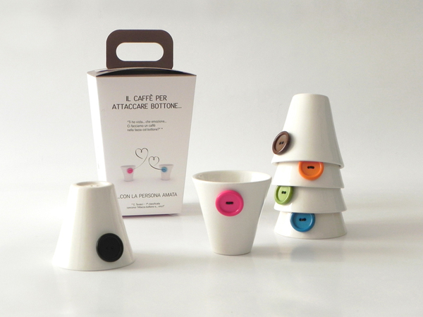 'About Coffee' Cup Set by PlayDesign