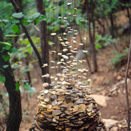 Land Art Installation by Cornelia Konrads
