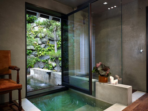 Bathroom Design Element: In-Floor Bathtub