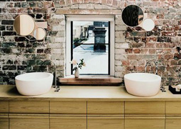 Bathroom Remodeling: Industrial Chic