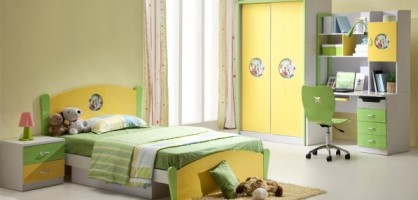 Bright Kid&#8217;s Room Design Ideas