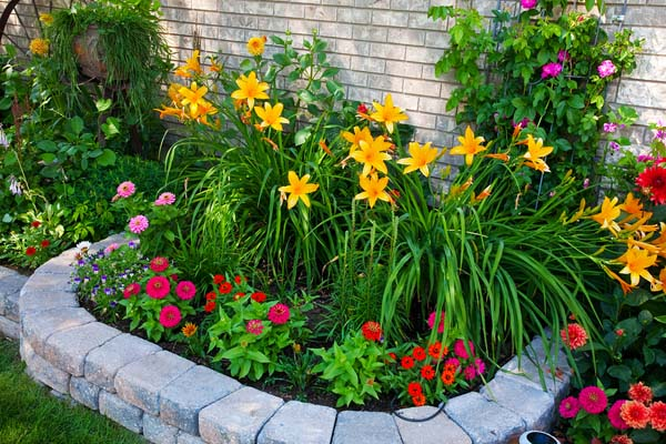 Building Flower Beds on Budget