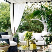 Canopy In Outdoor Decorating