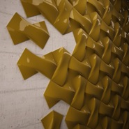 Ceramic Tiles Give Texture To Walls