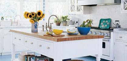 Coastal Kitchen Design Ideas