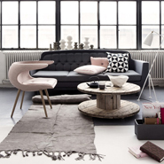 Color Scheme: Gray Pink Interior Design Ideas