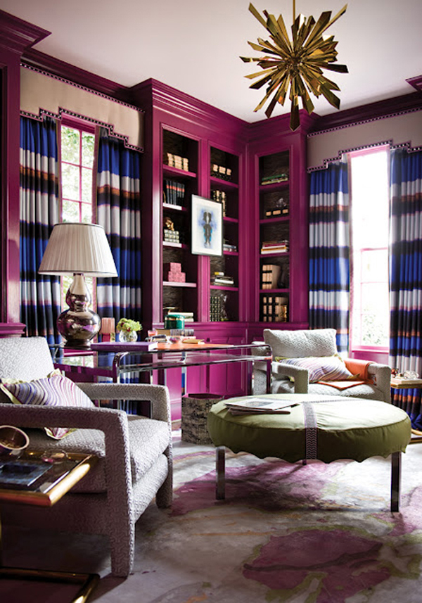 Color Scheme Ideas: Decorating In Jewel Tones | InteriorHolic.