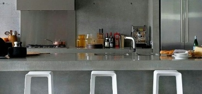 Concrete Kitchen Design Ideas