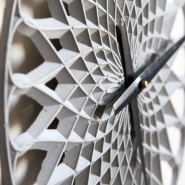 Concrete Para Clocks by LeeLABS