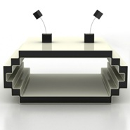 Cool 8-Bit Geek Coffee Table