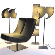 Cool Alphabet &#038; Punctuation Furniture and Lighting