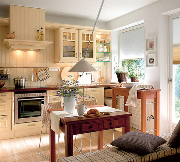 Cozy And Warm Kitchen Design Ideas
