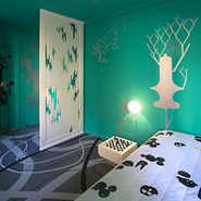 Creative Rooms At Hotel Fox, Copenhagen