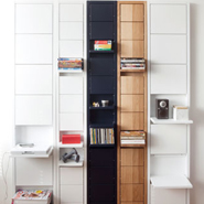 Curious Shelving System: KLAFFI-hylly