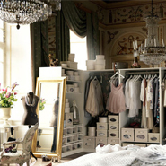 Decorating Interior With Clothes