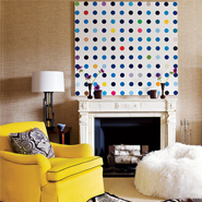 Decorating With Patterns: Polka Dot Interiors