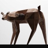 Deer Shaped Chair by Niazique