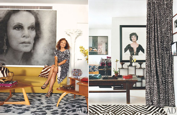 Diane Von Furstenbergs Manhattan Penthouse