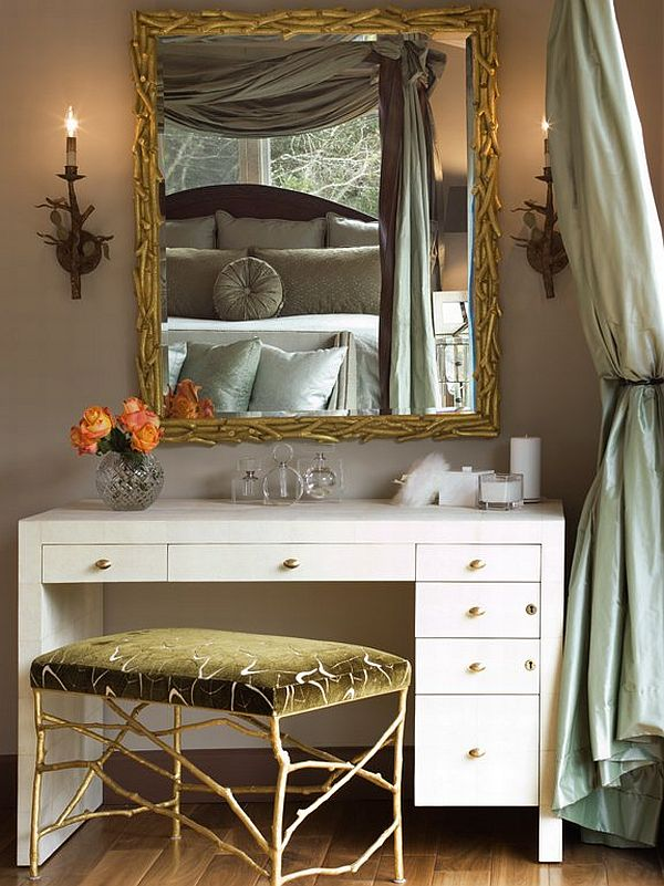 Dramatic Dressing Table Design Ideas