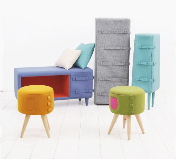Dressed up Furniture Series