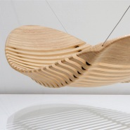 Ergonomic Wooden Hammock by Adam Cornish
