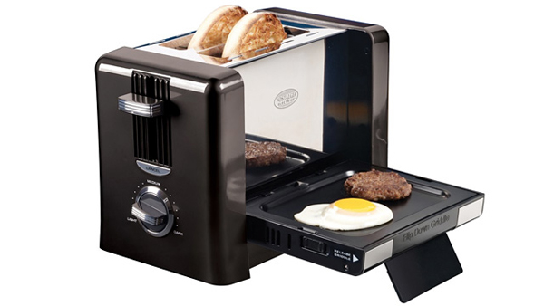 Flip-Down Breakfast Toaster From Nostalgia Electrics