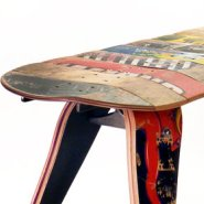 Furniture Made of Skateboards by Deckstool