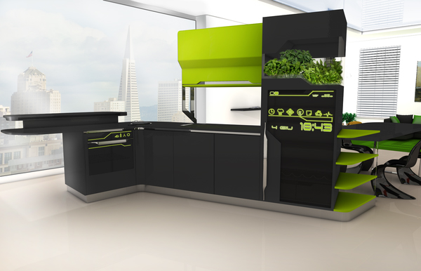 Futuristic i Food (Not Just A Kitchen) Design